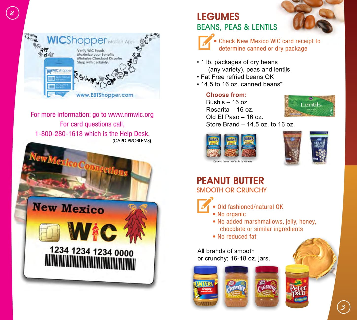 View The New Mexico WIC Food List